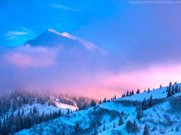 зимний отдых — Карпаты